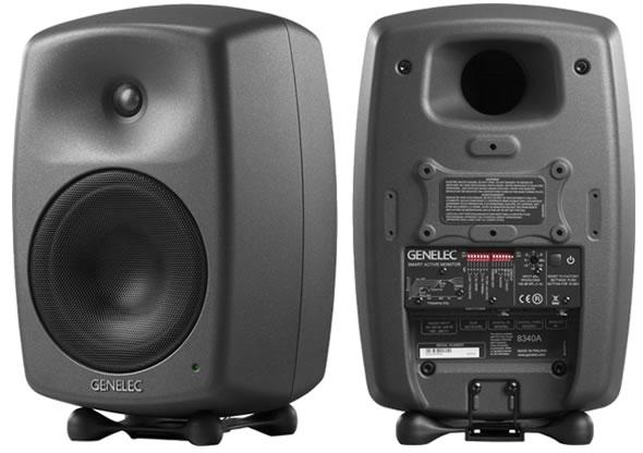 GENELEC スタジオモニター 8340A スピーカー
