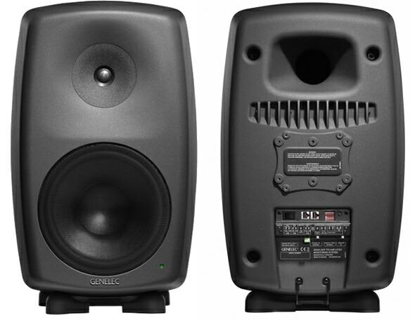 GENELEC 8260AP 3way  マットブラック スタジオモニター