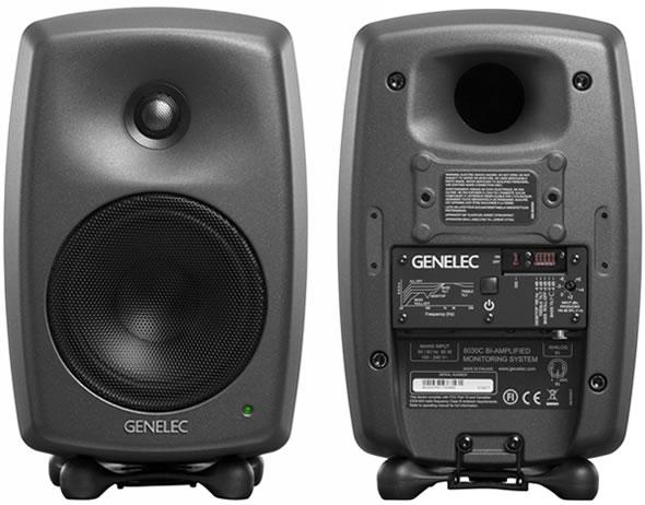 GENELEC ジェネレック 8030C スタジオモニター コンパクト マットブラック モニタースピーカー DTM 宅録 販売 価格 音響機器 舞台照明