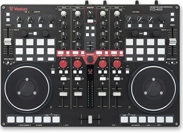 VESTAX VCI-400 DJ 価格 販売