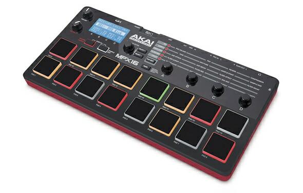 AKAI MPX16 サンプラー MIDI キーボード MIDIコントローラー 販売 価格