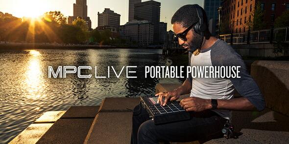 AKAI MPCLIVE DTM ビートメイク 打ち込み HIPHOP ブレークビーツ 販売 価格
