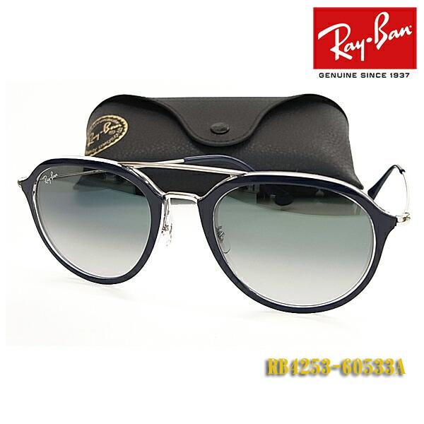 f8e0f1933b1e61 楽天市場  Ray-Ban レイバン サングラス RB4253-60533A(フィット調整 ...