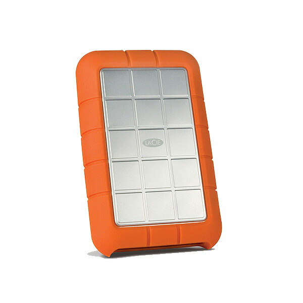 LaCie(ラシー) / rugged triple STEUシリーズ 1TB STEU1000400 - ハードディスク -