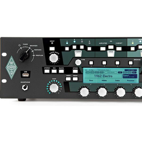 KEMPER(ケンパー) / KEMPER PROFILER RACK - ギターアンプ ラック式 - 【フレンズ厳選Rig音源USB&Belden高品質アンプケーブルプレゼント!】