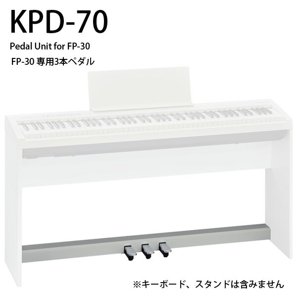 Roland(ローランド) / KPD-70-WH  - FP-30ペダルユニット -