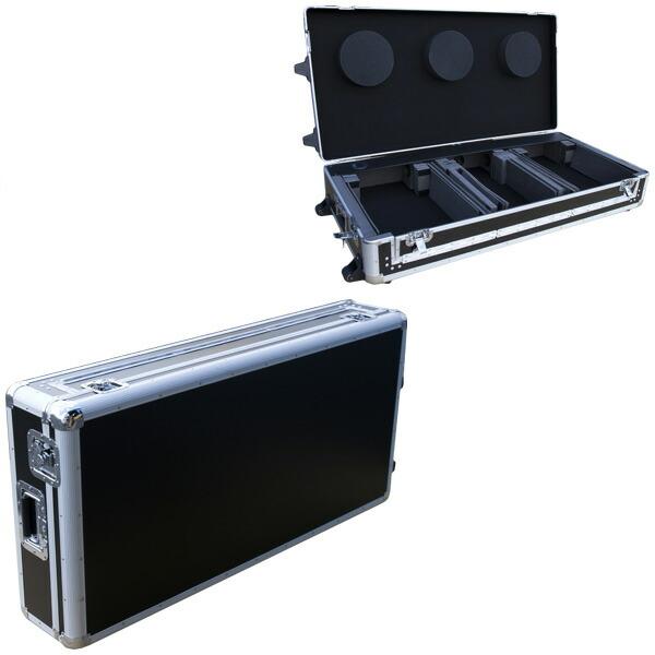 Euro style DJ coffin flight case 1 Black