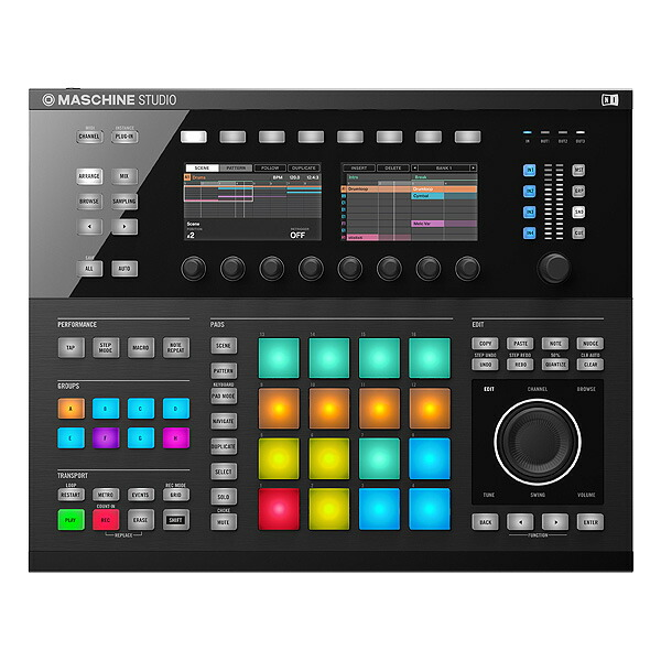 MASCHINE STUDIO (Black)