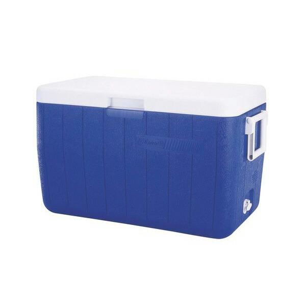 48-Quart Cooler-Blue