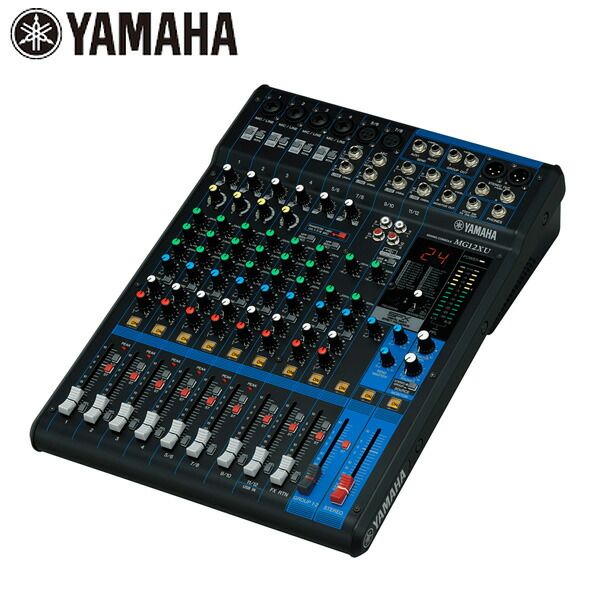YAMAHA(ヤマハ) / MG12XU - 12チャンネルミキシングコンソール -