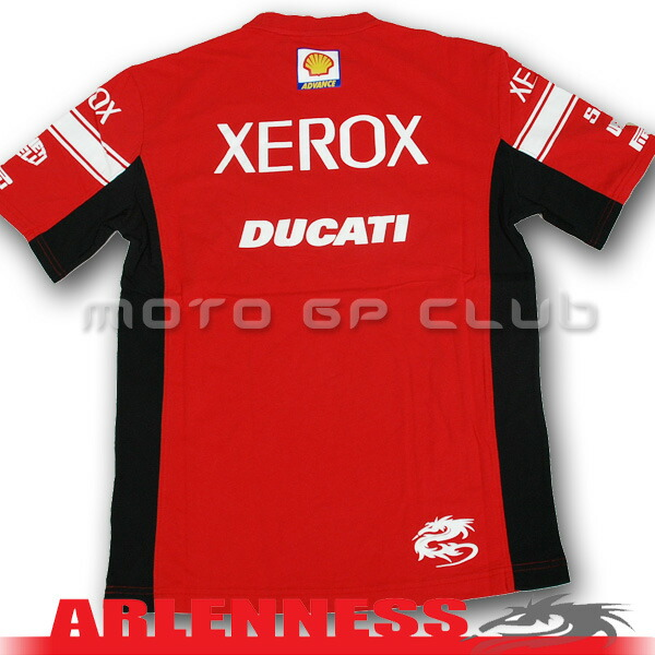 Auc motogpclub rakuten global market rare item xerox for Sponsor t shirt design