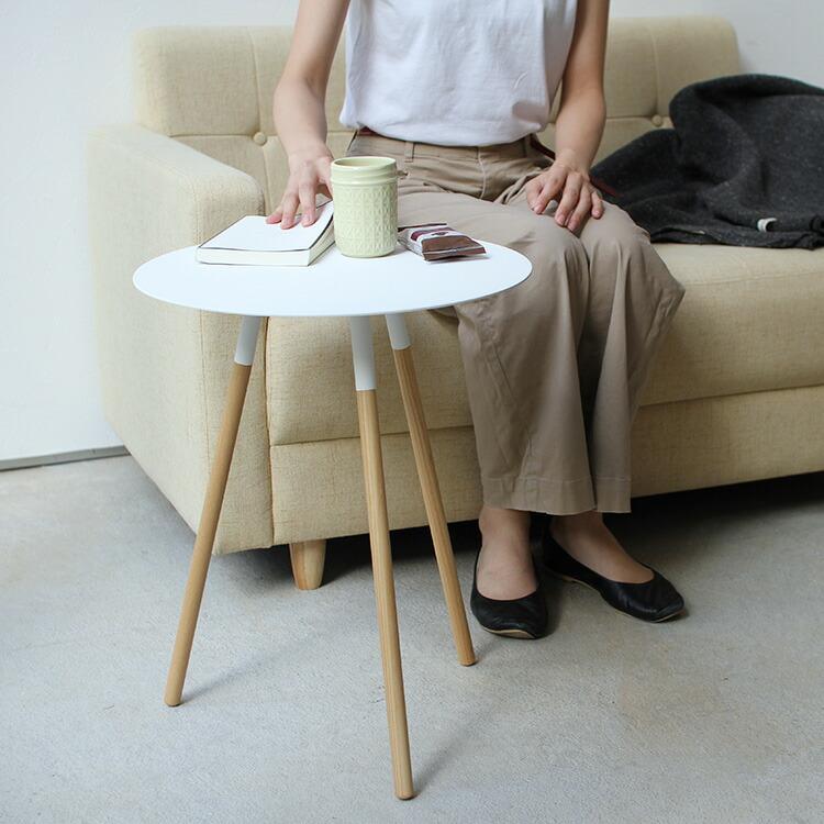 PLAIN サイドテーブル 丸型