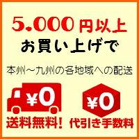 5,000円(税込)以上お買い上げで、本州〜九州の各地方への配送が送料無料