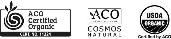 Australian Certified Organic, COSMOS NATURAL, USDA ORGANIC