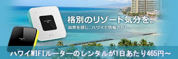 ハワイで海外wifiルーターレンタル!