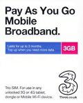 世界42カ国以上でで使える3 UK SIM 販売