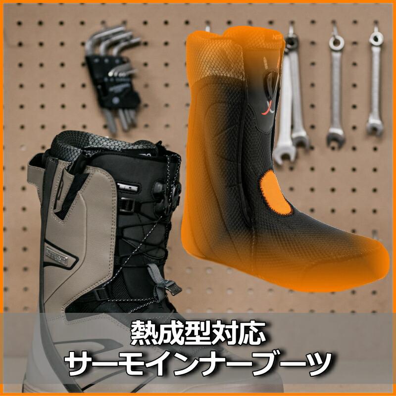 熱成型ブーツ