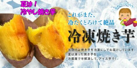 夏は冷やし焼き芋!冷凍焼き芋