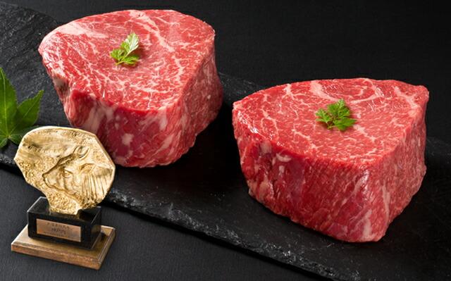 神戸牛厚切りランプステーキ
