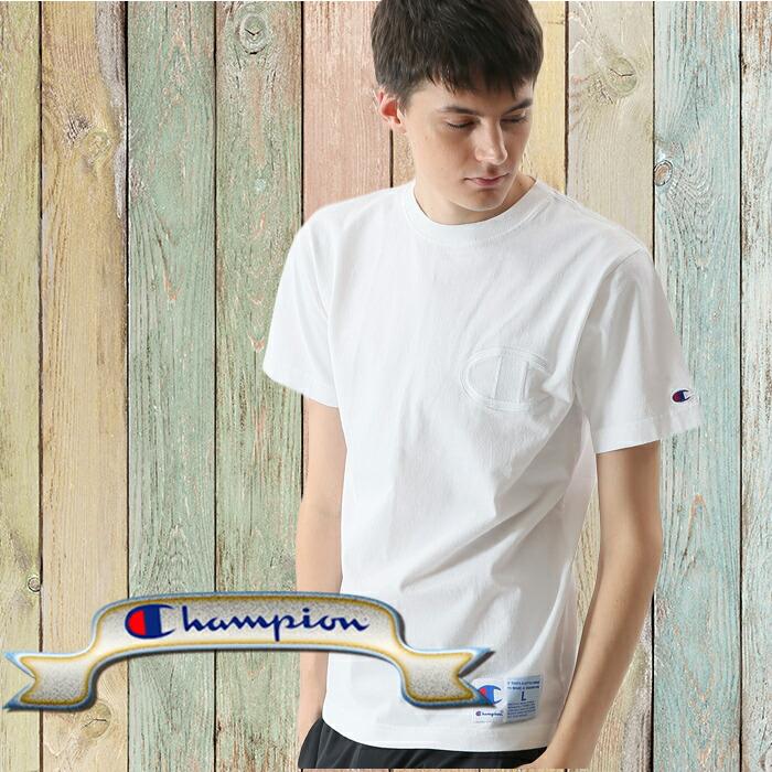チャンピオン Tシャツ c3-ms358_01