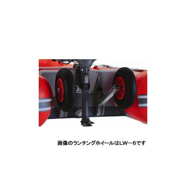 ジョイクラフト(JOYCRAFT) ゴムボート オプションパーツ ランチングホイール LW-6(オレンジペコ・スモールトランサム用)
