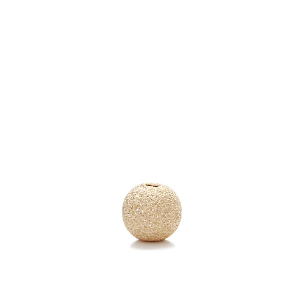【USA製】14KGFパーツ ゴールドフィルド ビーズ スターダスト 4mm 1個