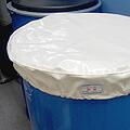 ドラム缶防塵防水キャップ