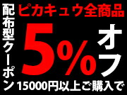 15000円以上ご購入で5%OFFクーポン