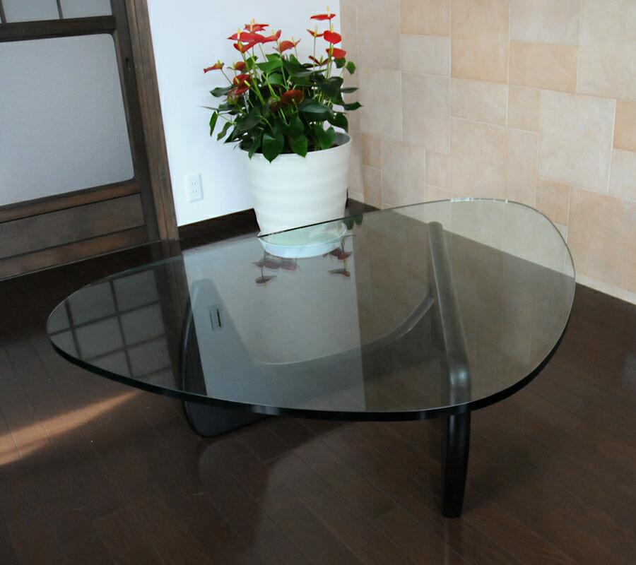 Vinci School Beijing: Auc-pleasure0905: Isamu Noguchi Coffee Table / Tempered