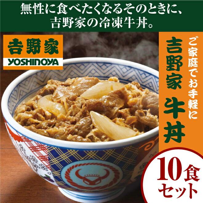 吉野家牛丼10食セット