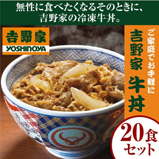 吉野家牛丼20食セット