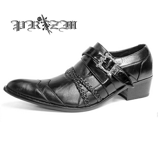 Glossy Black Dress Shoes