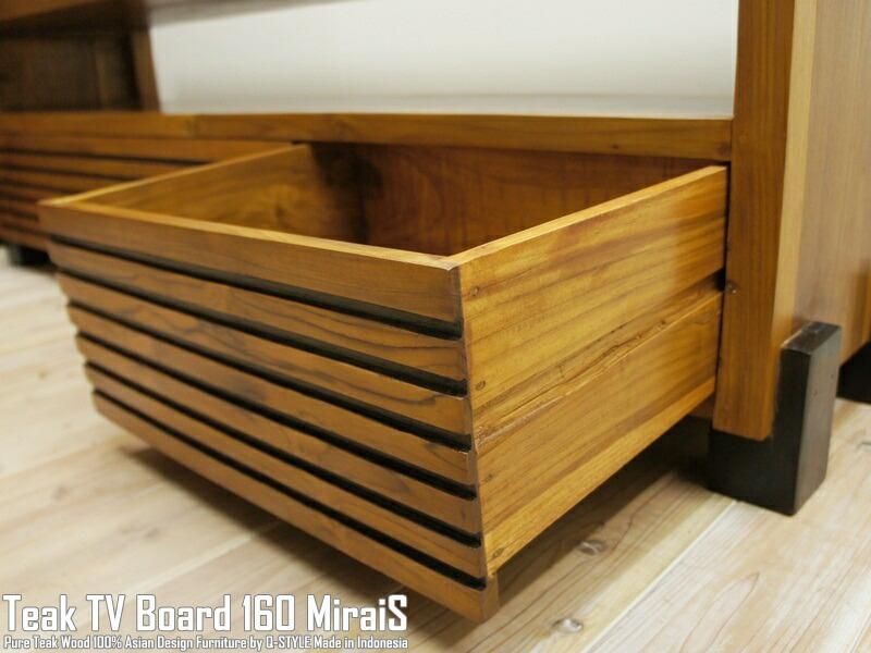 木製テレビ台160cm_バリ家具