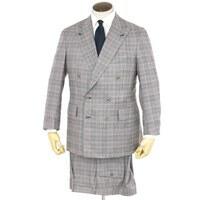 グレンチェック ダブル スーツ