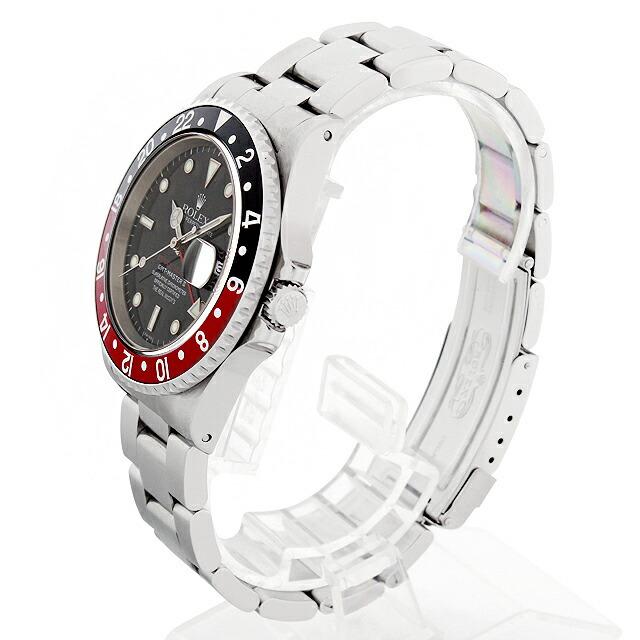 ロレックス GMTマスターII 赤黒ベゼル リアルマッコイズ チャックイエーガー セカンドモデル 16710 サブ画像1