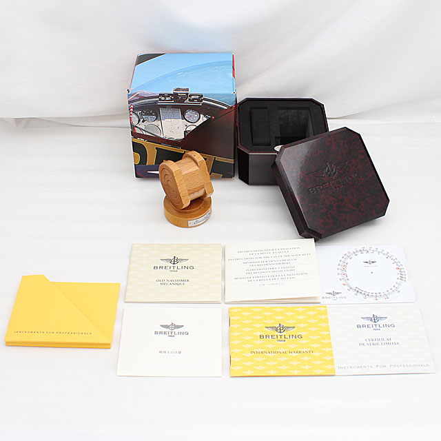 ブライトリング ナビタイマー メカニック 日本限定400本 A120BNMFBA(A11022.1) サブ画像5