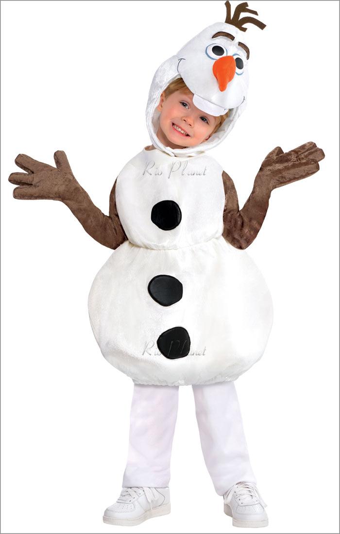 アナと雪の女王 オラフ コスチューム 着ぐるみ コスプレ 衣装 ディズニー キッズ 子供用 Rio Planet