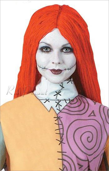 - Sally Nightmare Before Christmas Wig