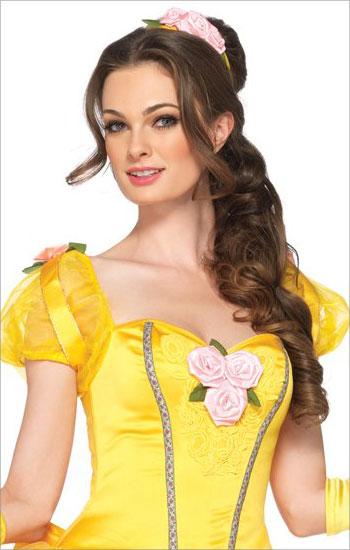ディズニー,コスプレ,仮装,プリンセス,,美女と野獣,ベル,デラックス,大人用,コスチュームハロウィン,衣装