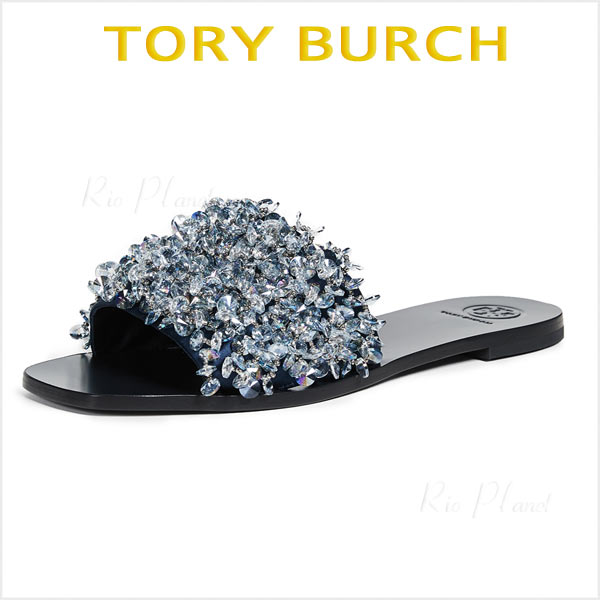 トリーバーチ,サンダル,黒,TORY BURCH