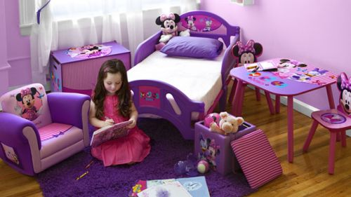 Pink and lavender color very cute  Disney Minnie table u0026&; Chair set 2 Minnieu0027s face becomes the backrest of the Chair and table are Daisy duck. & bbr-baby | Rakuten Global Market: Disney Minnie mouse table u0026amp;amp ...