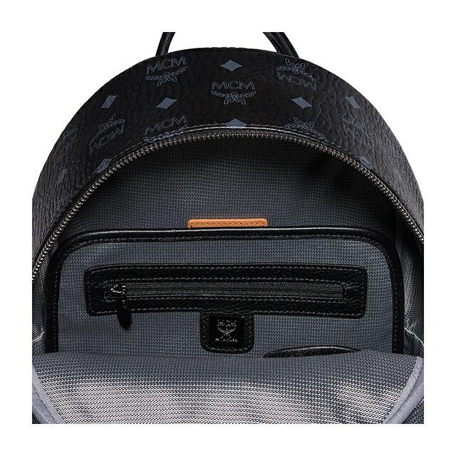 エムシーエム MCM MMK5SVE37 BP BK BK001 スモール バックパック スターク STARK BACKPACK STUD SMALL リュック デイパック リュックサック ブラック BLACK