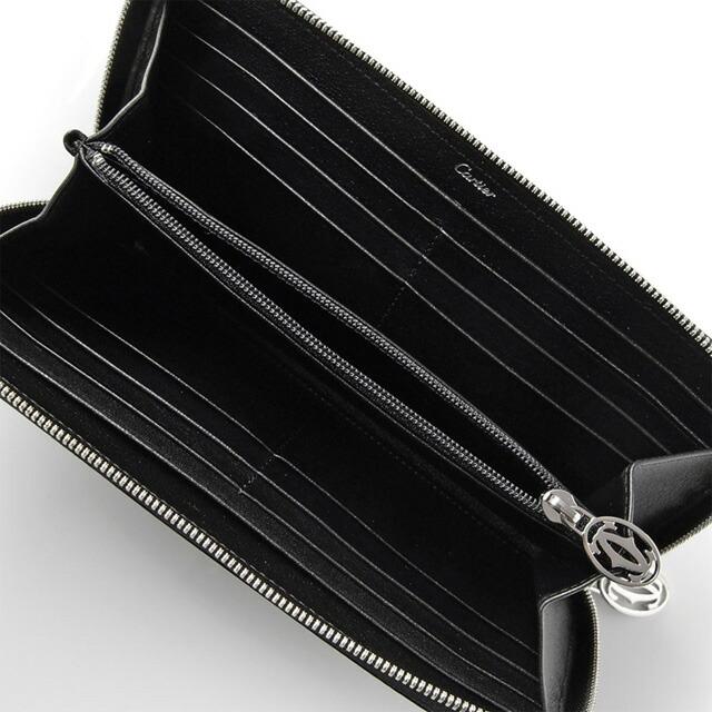 カルティエ Cartier L3001252 ラウンドファスナー式長財布 HAPPY BIRTHDAY スモールレザーグッズ ハッピー バースデイ ジップ付 インターナショナル ワレット