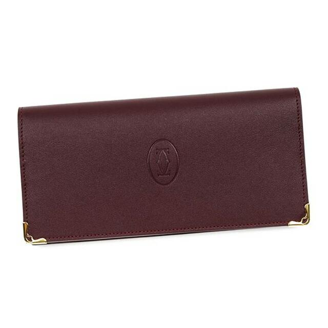 カルティエ 二つ折り 長財布