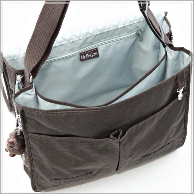 Salada Bowl: kipling kipling shoulder bag (EXPRESSO BROWN ...