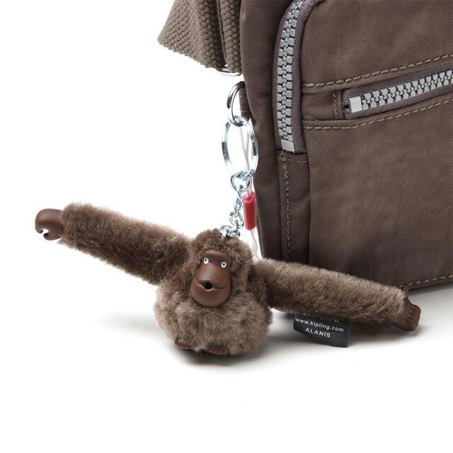 キプリング kipling ウエストポーチ ヒップバッグ PRESTO Monkey Brown ブラウン系 kpl-k13192-757