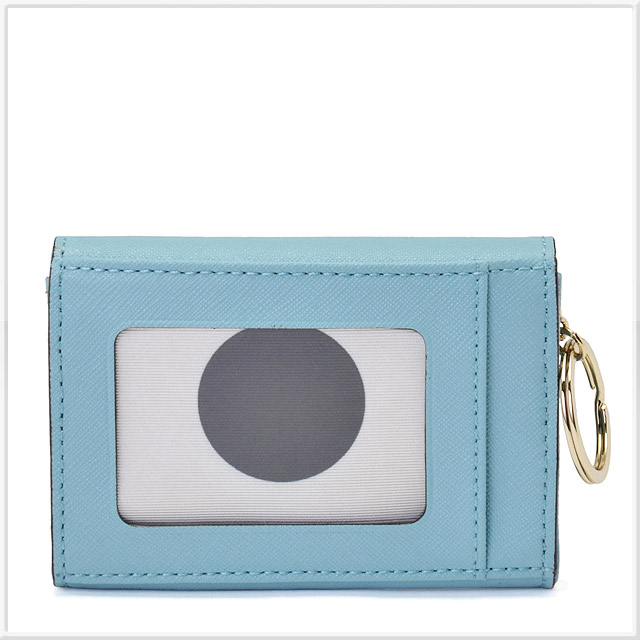 ケイトスペード CEDAR STREET DARLA キーリング付 マルチケース(小銭入れ・定期入れ・カード入れ付) CELESTE BLUE