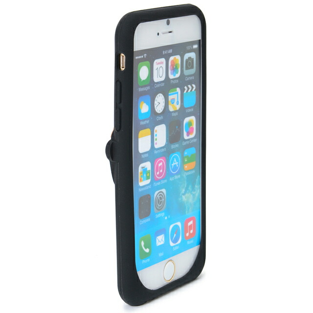 ケイト・スペード kate spade NEW YORK シリコン アイフォン 6 ケース シリコン ヘッジホッグ シリコンのハリネズミ SILICONE IPHONE 6 CASE SILICONE HEDGEHOG ブラック BLACK