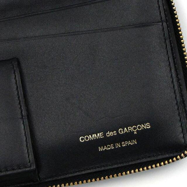 コム デ ギャルソン COMME des GARCONS ラウンドファスナー 長財布 EMBOSS ブラック cdg-sa011eb-bla