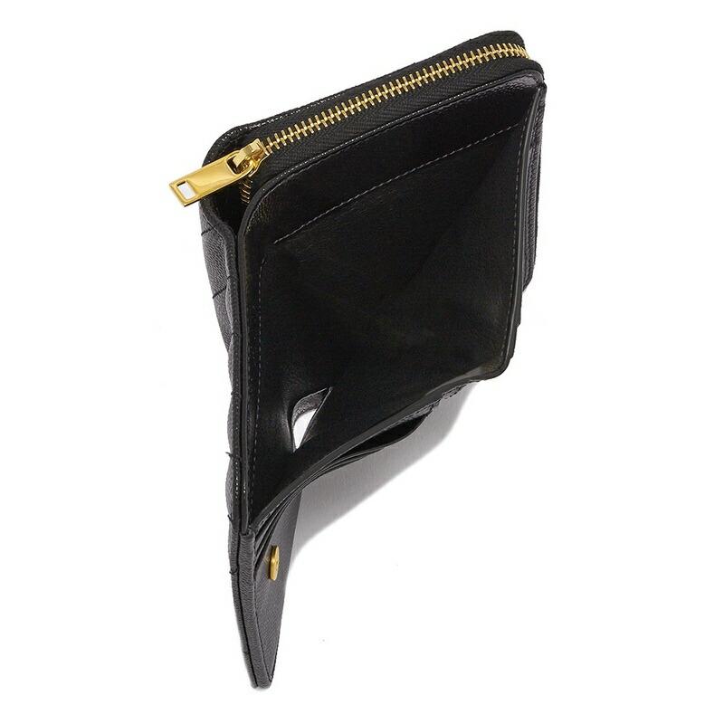 サンローラン 二つ折り財布